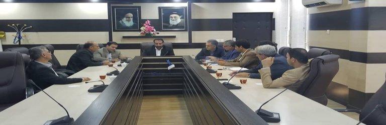 بررسی آخرین وضعیت پروژه های عمرانی ، تعیین تکلیف اراضی ملی سطح استان، به روز رسانی سیستمهای میز خدمت...