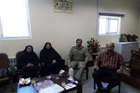 دیدار جمعی از مسولین اداره کل حفاظت محیط زیست استان کرمان با دادستان شهرستان انار به مناسبت هفته قوه قضائیه
