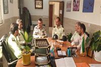 دیدار عالیترین مقام انتظامی شهرستان با رییس حفاظت محیط زیست استانه اشرفیه