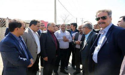 بازدید شهردار مشهد از بولوارهای شهید طرحچی و کشاورز
