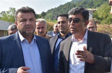 روابط عمومی شهرداری رامسر/ استاندار مازندران وارد رامسر شد