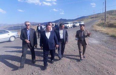 بازدید مدیرعامل شرکت از آخرین وضعیت پروژه جاده دسترسی به سد طالقان