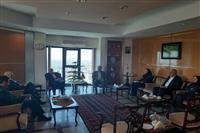 دیدار معاون رئیس جمهور و  رئیس سازمان حفاظت محیط زیست کشور با استاندار ، رئیس سازمان برنامه و بودجه و جمعی از مسئولان استان کرمان
