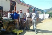 رهاسازی یک قطعه گورکن در شهرستان سیاهکل