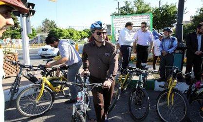 عزم جدی مدیریت شهری برای گسترش خطوط ویژه دوچرخه