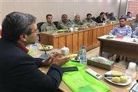 برگزاری کارگاه آموزشی پیشگیری و اطفاء حریق برای یگان های حفاظت محیط زیست و منابع طبیعی استان کرمان