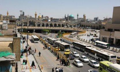 بازگشایی دوربرگردان حرم مطهر در مسیر خیابان آیت الله شیرازی
