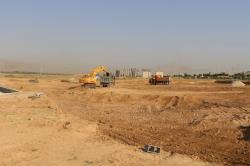 آغاز عملیات احداث سومین پارک ترافیکی شیراز در بوستان مادر