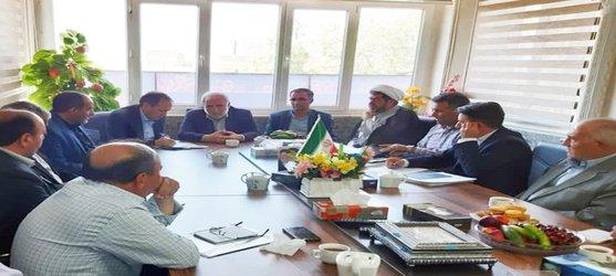 بررسی وضعیت منابع آب شهرستان هریس در جلسه مشترک با نماینده مردم اهر و هریس در مجلس شورای اسلامی