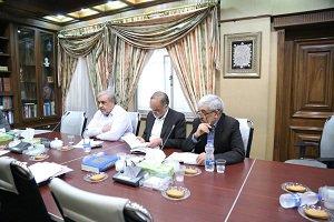 برگزاری جلسه بررسی مسائل مربوط به آب استان با حضور استاندار کرمان