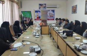 برگزاری جلسه کمیته بانوان در محل فرمانداری مه ولات با محوریت هفته صرفه جویی