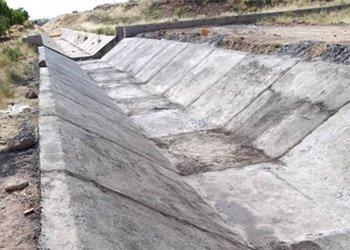احداث کانال هدایت آب های سطحی شمال پونک پایان یافت
