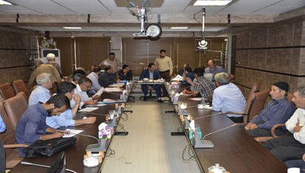 جلسه ملاقات مردمی مدیرعامل شرکت آب منطقه ای کرمانشاه طبق سنوات گذشته برگزار شد