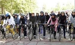 برگزاری همایش بزرگ دوچرخهسواری ویژه بانوان در بوستان ریحانه