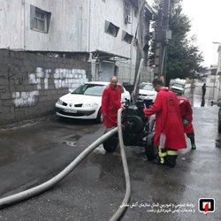 پوشش ۱۶ مورد حریق و حادثه توسط آتش نشانان شهر باران در ۲۴ ساعت گذشته /آتش نشانی رشت