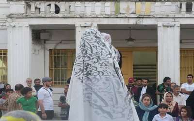 اجرای تئاتر خیابانی«منم آرش» در چهاردهمین هفته از فصل دوم پروژه تئاتر خیابانی دائم در سال ۹۸