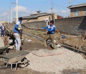 اجرای ۷۰۰ متر شبکه داخلی و شستشوی ۸۵ کیلومتر شبکه در روستاهای آق قلا
