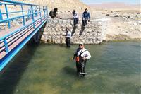 میزان خروجی آب تالاب چغاخور در چهارمحال و بختیاری به صورت روزانه پایش می شود