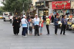 اجرای طرح همیاران مهربان ترافیک با هدف فرهنگسازی