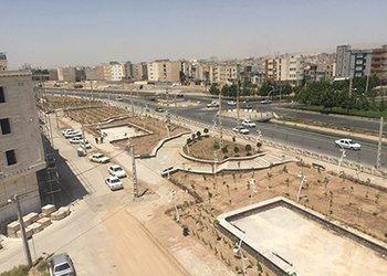 فاز دوم پروژه احداث بوستان امام علی(ع) به پایان رسید