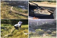 صیادان متخلف هنگام ارتکاب جرم در شهرستان اردل دستگیر شدند