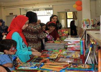 برپایی نمایشگاه کتاب رضوی در خانه فرهنگ محمدیه قزوین به مناسبت دهه کرامت