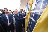 نیروگاه خورشیدی ۱۰ مگاواتی شهرستان اقلید استان فارس به بهرهبرداری رسید