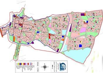 بروزرسانی نقشههای جدید کاربریهای مختلف شهر قزوین در محیط GIS