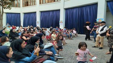 سازمان فرهنگی اجتماعی و ورزشی شهرداری رشت: جشن کودکان سرزمین باران برگزارشد