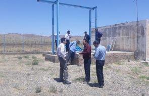 بازدید از تاسیسات آبرسانی مجتمع وحدت (شامکان) سبزوار
