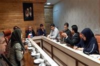 برگزاری جلسه   برنامه ریزی جمع آوری و امحاء گونه مها جم سنبل آبی از زیستگاههای استان