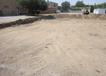 عملیات احداث سالن ورزشی محله نواب جنوبی آغاز شد