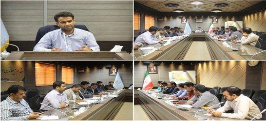 برگزاری جلسه کمیته حفاظت از اراضی و املاک بنیاد مسکن انقلاب اسلامی استان قم