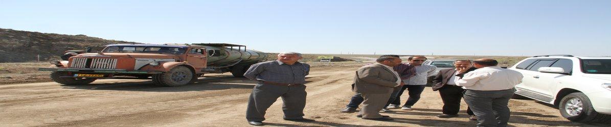 پروژه های بهسازی محور رضی- امیر کندی و احداث راه اصلی ورودی منطقه ویژه اقتصادی نمین مورد بازدید قرار گرفت