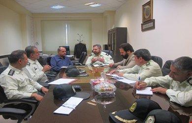 برگزاری جلسه همکاری و تعامل با پلیس راه آهن