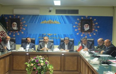 برگزاری جلسه کار گروه بازسازی و نوسازی مناطق سیل زده