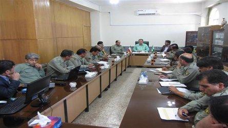 جلسه شورای اداری حفاظت محیط زیست ایلام برگزار شد