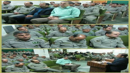برگزاری دوره آموزشی ضابطین دادگستری در ایلام