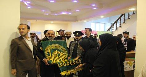 حضور خادمین حرم مطهر حضرت امام رضا (ع) در شهرداری آذرشهر