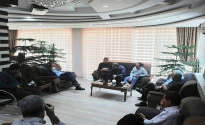 دیدار مردمی شهردار آذرشهر با شهروندان