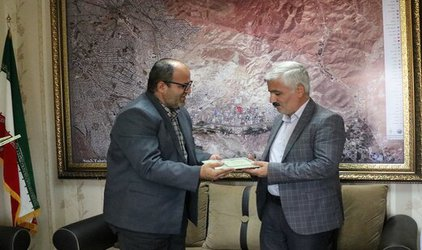 قدردانی کمیته امداد آذربایجان شرقی از شهرداری منطقه ۵ تبریز