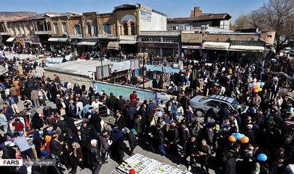 دستفروشان سطح تبریز در ۷ نقطه شهر ساماندهی میشوند