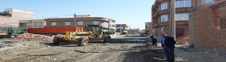 گزارش تصویری پروژه های عمرانی در حال اجرای شهرداری پیرانشهر