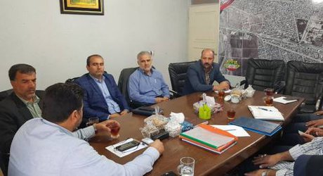 علی بابایی عضو جدید شورا در چهاردهمین جلسه شورا شرکت کرد.