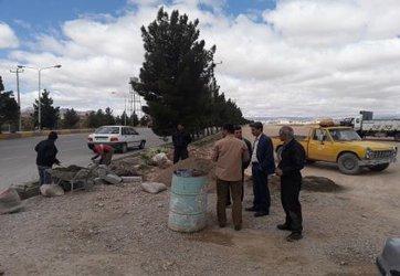 بازدید محمدمهدی پهلوان شهردار جاجرم از روند ساخت و ساز در حوزه عمران شهری