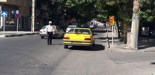 خط ویژه تاکسی وخودروهای امدادی وپلیس راه اندازی شد