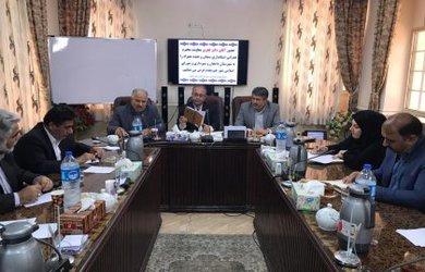 حضور دکتر فخری معاونت هماهنگی امور عمرانی استانداری سمنان در شورای شهر دامغان