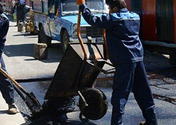 ۸۰ درصد از عملیات عمرانی پروژه تراش آسفالت منطقه سه شهرداری قزوین انجام شد