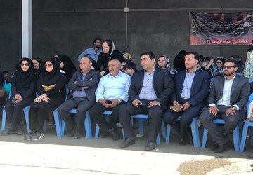 مسابقه مهیج و با نشاط «آتش نشان کوچک» در شهر «تاکستان» برگزار شد