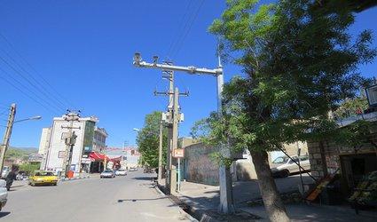 فعال شدن دوربینهای کنترل ترافیک در شهر پاوه